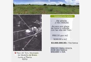 Foto de terreno habitacional en venta en  , paso del toro, medellín, veracruz de ignacio de la llave, 17734385 No. 01