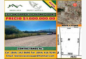 Foto de terreno habitacional en venta en pavorreales , san isidro de las palomas, arteaga, coahuila de zaragoza, 0 No. 01