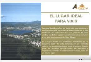 Foto de terreno habitacional en venta en pedregal 1, brisas del pedregal, león, guanajuato, 8686093 No. 01