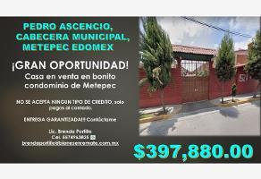 Foto de casa en venta en pedro ascencio 152, san agustín i, metepec, méxico, 0 No. 01