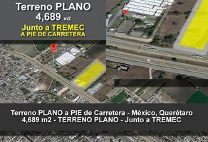 Foto de terreno comercial en venta en  , pedro escobedo centro, pedro escobedo, querétaro, 14368444 No. 01