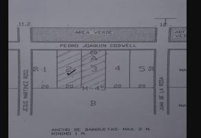 Foto de terreno habitacional en venta en pedro juaquin , alfredo v bonfil, benito juárez, quintana roo, 18307215 No. 01