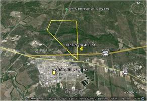 Foto de terreno industrial en venta en  , pemex, cadereyta jiménez, nuevo león, 15335230 No. 01