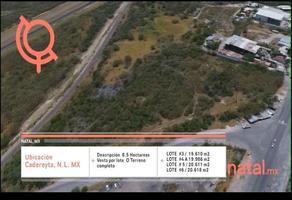 Foto de terreno habitacional en venta en  , pemex, cadereyta jiménez, nuevo león, 0 No. 01