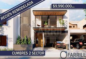 Foto de casa en venta en peñon 414, las cumbres 2 sector, monterrey, nuevo león, 0 No. 01