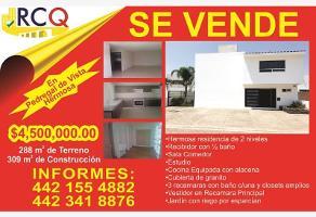 Foto de casa en venta en peñón blanco 130, pedregal de vista hermosa, querétaro, querétaro, 0 No. 01