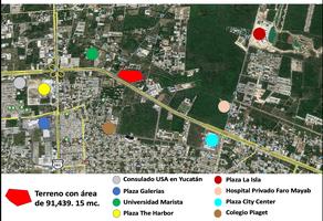 Foto de terreno comercial en venta en periferico , residencial del mayab, mérida, yucatán, 17963415 No. 01