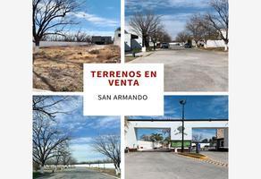 Foto de terreno habitacional en venta en pimenton 100, san armando, torreón, coahuila de zaragoza, 0 No. 01