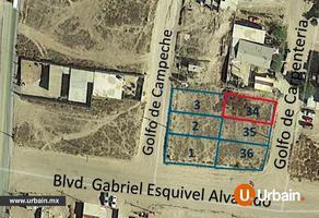 Foto de terreno habitacional en venta en  , plan libertador, playas de rosarito, baja california, 14583603 No. 01