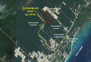 Foto de terreno industrial en venta en playa del carmen 90, playa del carmen, solidaridad, quintana roo, 13019487 No. 01