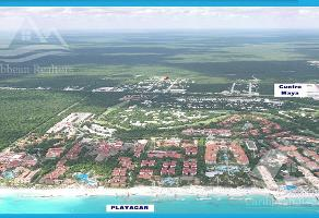 Foto de terreno habitacional en venta en  , playa del carmen centro, solidaridad, quintana roo, 0 No. 01