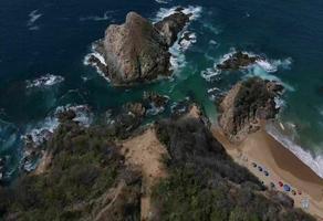 Foto de terreno habitacional en venta en playa el amor , playa zipolite, san pedro pochutla, oaxaca, 0 No. 01