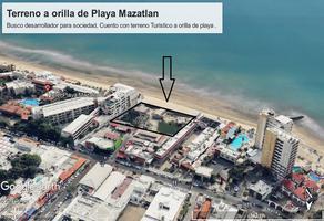 Foto de terreno comercial en venta en playa gaviotas , zona dorada, mazatlán, sinaloa, 0 No. 01