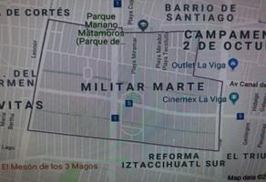 Foto de terreno habitacional en venta en playa mirador , militar marte, iztacalco, df / cdmx, 14383286 No. 01