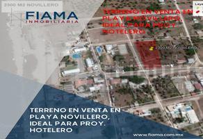 Foto de terreno habitacional en venta en  , playa novillero, tecuala, nayarit, 17829110 No. 01