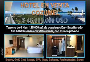 Foto de edificio en venta en playa , zona hotelera norte, cozumel, quintana roo, 13722080 No. 01