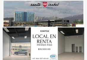Foto de local en renta en plaza santa isabel a, cumbres, saltillo, coahuila de zaragoza, 0 No. 01