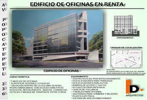 Foto de edificio en renta en popocatépetl , general pedro maria anaya, benito juárez, df / cdmx, 7251330 No. 01