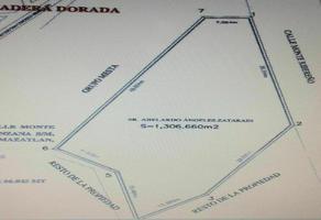Foto de terreno habitacional en venta en  , pradera dorada i, mazatlán, sinaloa, 0 No. 01