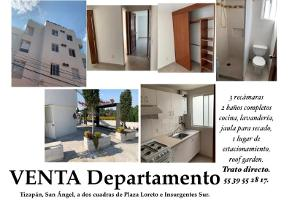 Foto de departamento en venta en presa 101, tizapan, álvaro obregón, df / cdmx, 0 No. 01