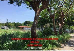 Foto de terreno habitacional en venta en principal 000, paso colorado, boca del río, veracruz de ignacio de la llave, 11136646 No. 01