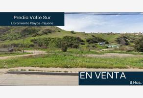 Foto de terreno industrial en venta en principal 1, valle del sur, tijuana, baja california, 0 No. 01