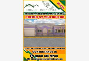 Foto de casa en venta en privada abasolo sur 175, santa anita, saltillo, coahuila de zaragoza, 18220915 No. 01