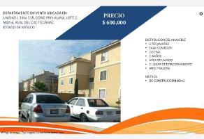 Foto de departamento en venta en privada alava 318, real del cid, tecámac, méxico, 17400295 No. 01