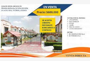 Foto de casa en venta en privada baena 54, villa del real, tecámac, méxico, 17367067 No. 01