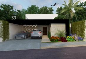 Foto de casa en venta en privada chaactun , chablekal, mérida, yucatán, 0 No. 01