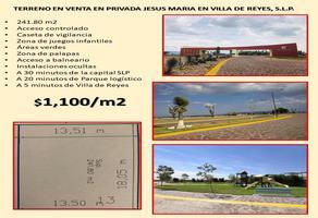 Foto de terreno comercial en venta en privada en jesus maria 100, alamitos, san luis potosí, san luis potosí, 0 No. 01