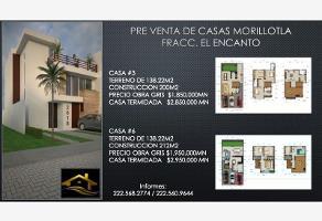 Foto de casa en venta en privada margaritas fraccionamiento el encanto 6, morillotla, san andrés cholula, puebla, 0 No. 01