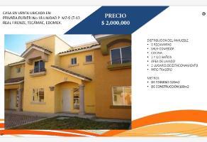 Foto de casa en venta en privada rubieri 18, real firenze, tecámac, méxico, 17397252 No. 01
