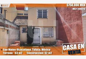Foto de casa en venta en privada santa rita 17 b, san mateo otzacatipan, toluca, méxico, 0 No. 01