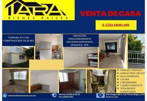 Foto de casa en venta en privada xochimilco 6, hacienda sotavento, veracruz, veracruz de ignacio de la llave, 11483935 No. 01