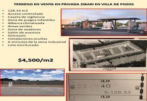 Foto de terreno comercial en venta en privada zibari 100, alamitos, san luis potosí, san luis potosí, 0 No. 01