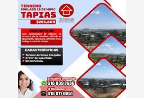 Foto de terreno habitacional en venta en prof. gabino ruteaga 126, 15 de mayo (tapias), durango, durango, 0 No. 01