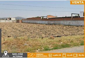 Foto de terreno habitacional en venta en prolongación avenida miguel alemán , actipac, san andrés cholula, puebla, 21744111 No. 01