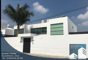 Foto de casa en venta en prudencia grifel 538, la joya, querétaro, querétaro, 8685600 No. 01
