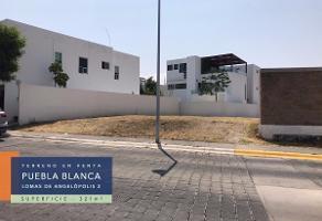 Foto de terreno habitacional en venta en puebla , la vista contry club, san andrés cholula, puebla, 0 No. 01