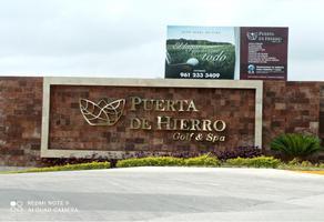 Foto de terreno habitacional en venta en puerta de hierro club de golf y spa , joyas del campestre, tuxtla gutiérrez, chiapas, 0 No. 01