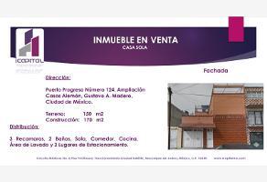 Foto de casa en venta en puerto progreso 124, fernando casas alemán, gustavo a. madero, df / cdmx, 8557655 No. 01
