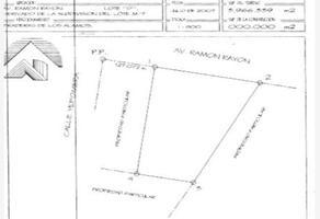 Foto de terreno habitacional en venta en ramón rayon y yepomera , paraje del sol v, juárez, chihuahua, 0 No. 01