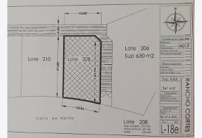 Foto de terreno habitacional en venta en . ., rancho cortes, cuernavaca, morelos, 12054658 No. 01