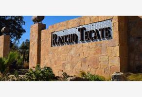 Foto de terreno habitacional en venta en rancho tecate 1, tecate centro, tecate, baja california, 19140301 No. 01