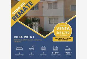 Foto de casa en venta en raquel lavalle trouvell 14-a, villa rica 1, veracruz, veracruz de ignacio de la llave, 20283136 No. 01