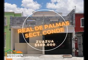 Foto de casa en venta en  , real de palmas, general zuazua, nuevo león, 0 No. 01