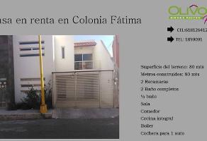 Foto de casa en renta en  , real del prado, durango, durango, 11765903 No. 01
