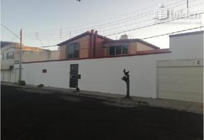 Foto de casa en renta en  , fraccionamiento el soldado, durango, durango, 6880699 No. 01