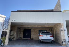 Foto de casa en venta en  , real del valle 1 sector, santa catarina, nuevo león, 20530330 No. 01